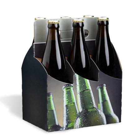 6er Basket Motiv Eiskalt 0,5 l Flasche