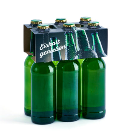 Flaschenträger 6er Aufsteckträger Longneck eiskalt