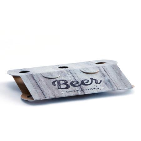 flaschentraeger 3erTraeger Longneckpack Motiv Beer