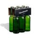6er Flaschenträger 0,33 l Longneck Motiv Black Handmade