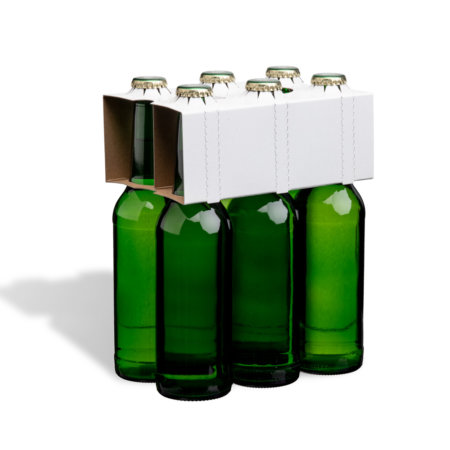 6er Flaschenträger 0,33 l Longneck unbedruckt