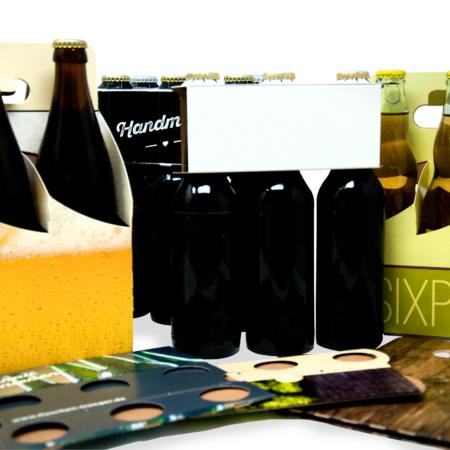 Flaschenträger Banner verschiedene Motive