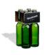 4er Flaschenträger 0,33 l Longneck Motiv Black Handmade