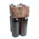 4er Bierträger Motiv Holz