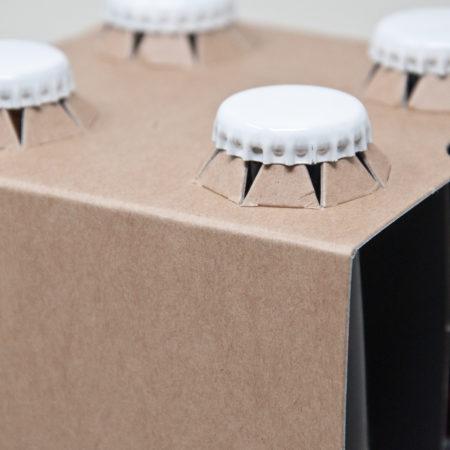 4er Aufsteckträger Naturkraftkarton 0,33 Liter Longneck Flasche