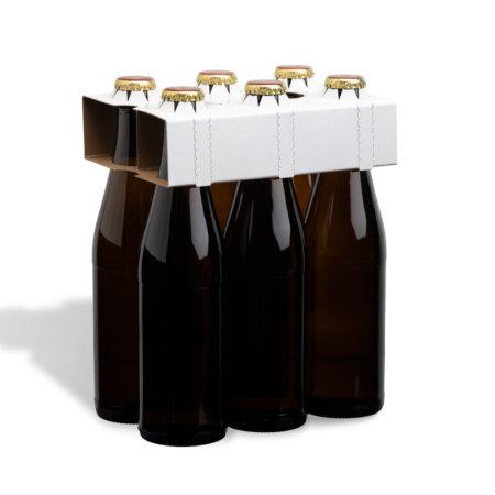 6er Flaschenträger 0,33 l Vichyflasche unbedruckt