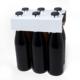 6er Aufsteckträger unbedruckt 0,33 Liter Vichy Flasche