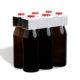 6er Flaschenträger 0,5 l Euroflasche unbedruckt