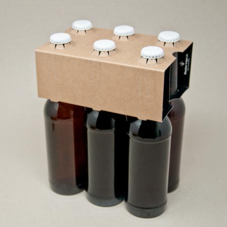 6er Aufsteckträger Naturkraft Karton 0,33 l Longneck Flasche