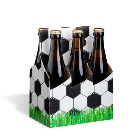 Basket Flaschenträger Motiv Fußball